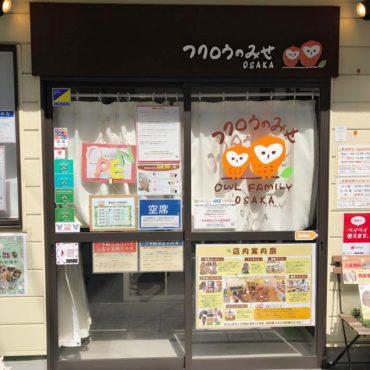Family Travel to Osaka Owl Cafe