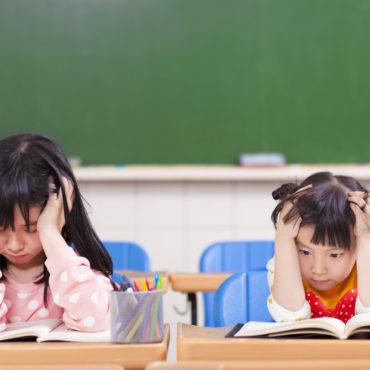 exam stress in children
