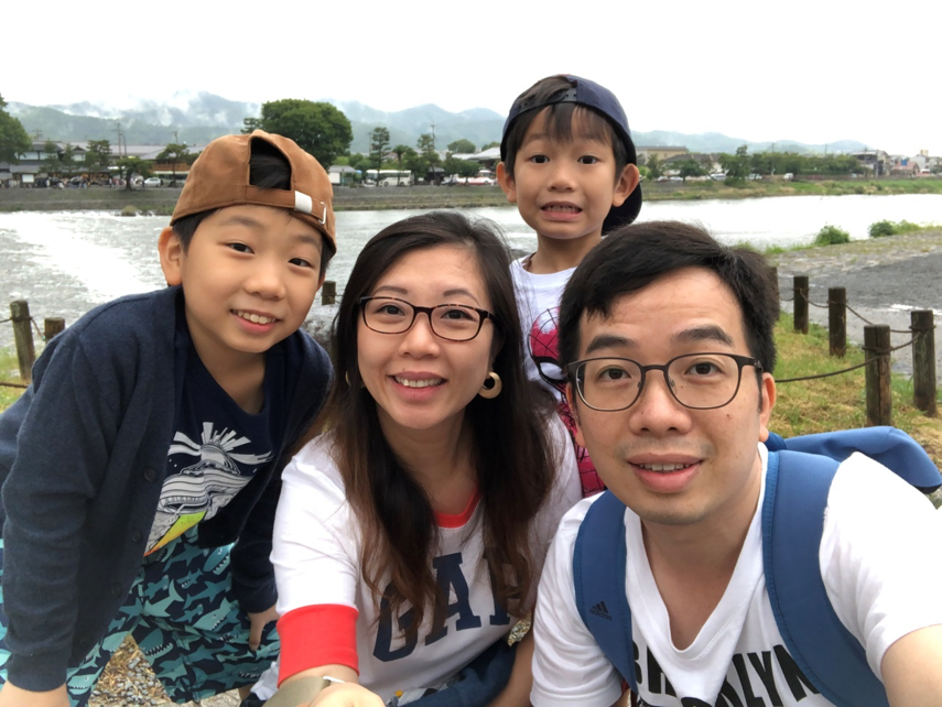 Wonder Years Family Travels Monkey Forest Kyoto