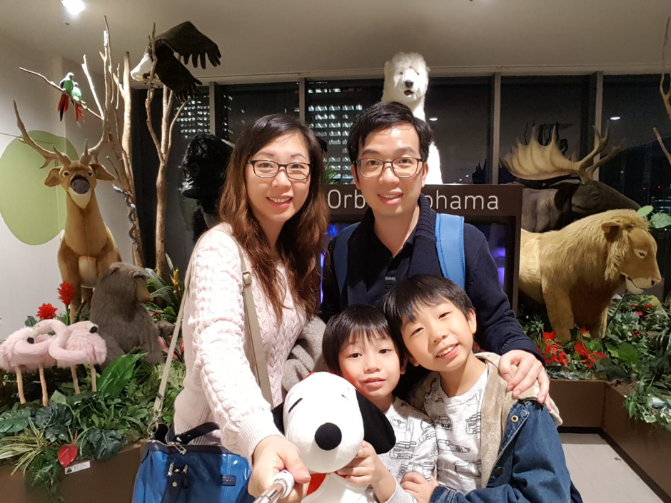 Family Travel Osaka Orbi