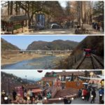 Wonder Years Family Travels Nami Island, Gangchon Rail Park and Petite France Korea