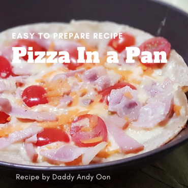 Wonder Years Mummy Matter Recipe Pizza in a Pan