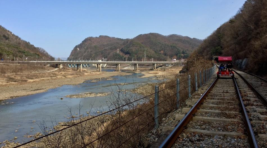 Wonder Years Family Travels Gangchon Rail Park