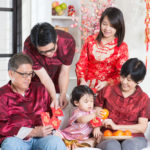 bringing baby out during chinese new year