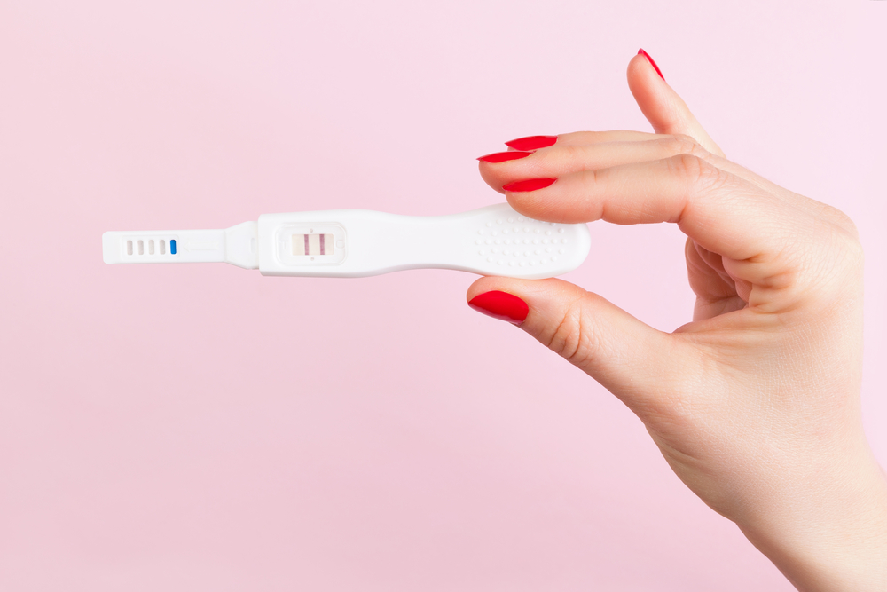 faint line on a pregnancy test