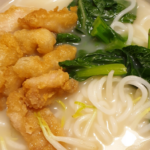 Easy to prepare recipe fried fish beehoon soup