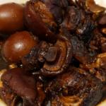 Easy to prepare recipe black vinegar pig trotter