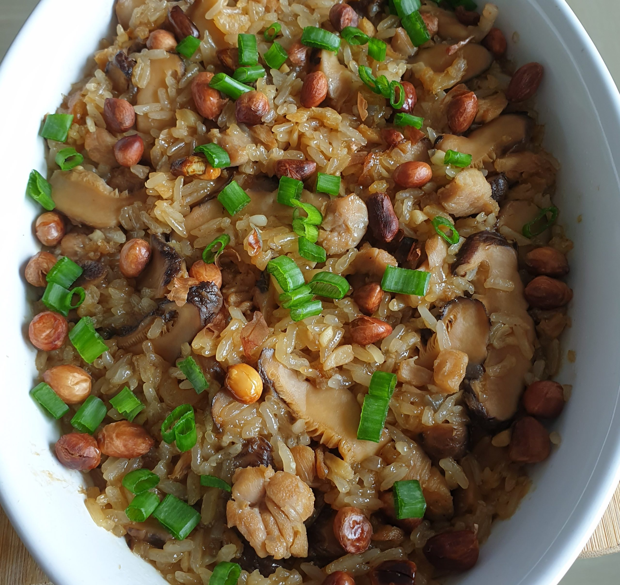Easy Recipe steamed glutinous rice